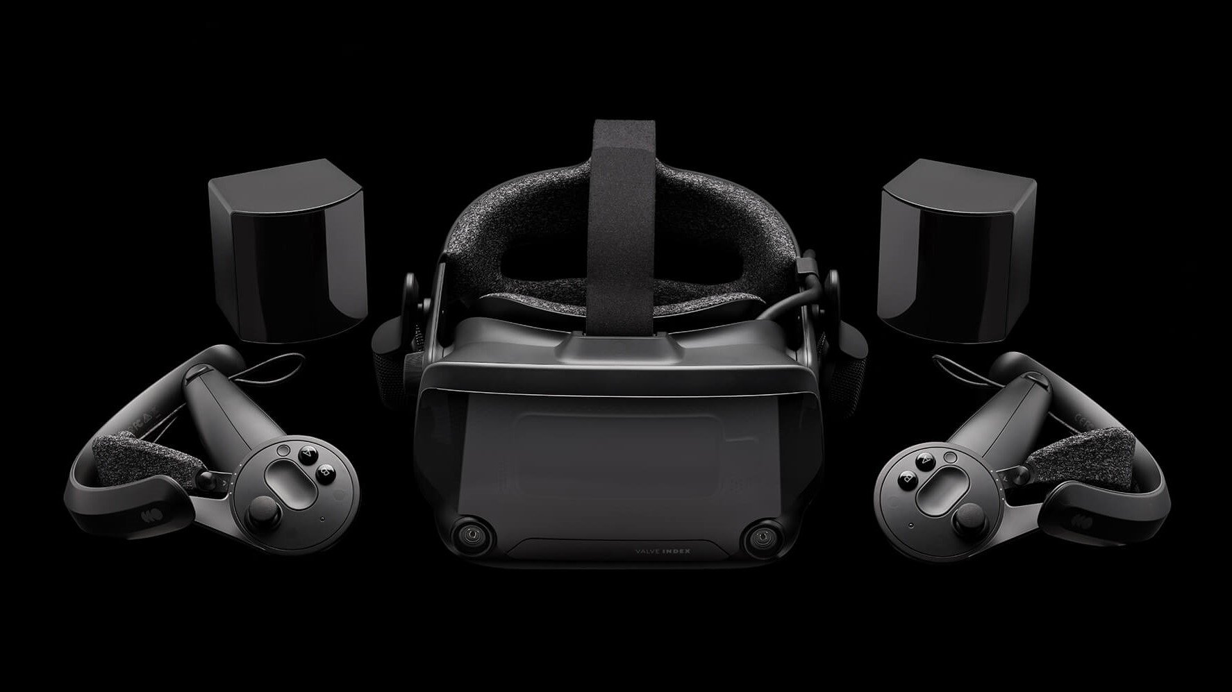 """Valve Index with controllers and base stations"""